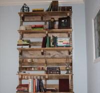 DIY: Pallet Bookshelf Plans or Instructions | Wooden ...