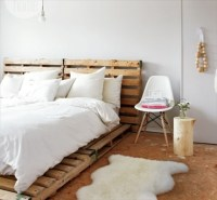 Catchy and Distinct Style Pallet Bed DIY | Wooden Pallet ...