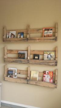 DIY: Pallet Shelves Inexpensive Yet Colorful | Wooden ...