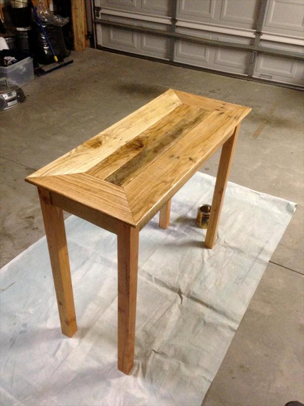 build a rustic sofa table ager sofas how to pallet conceptstructuresllc com diy console wooden furniture