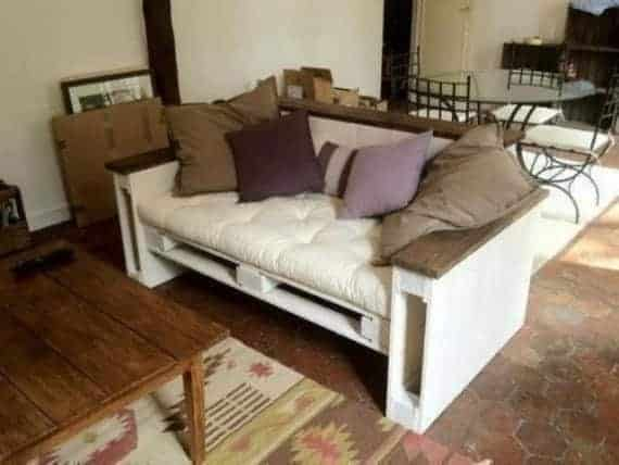 Small Pallet Sofa