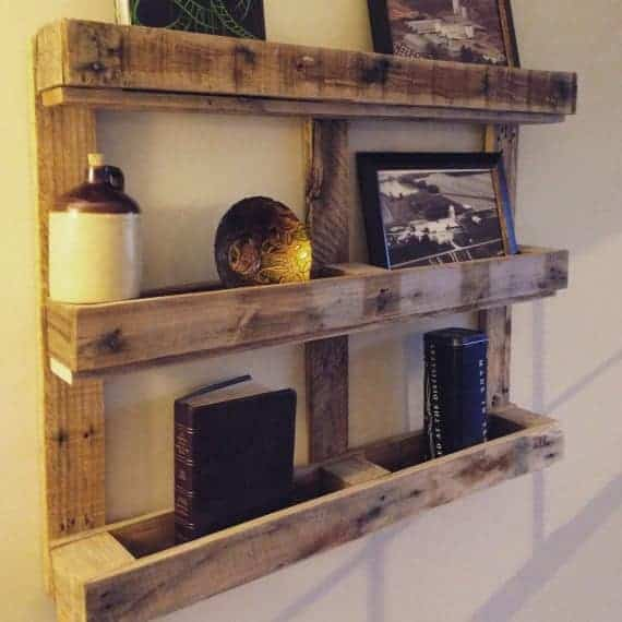 Pallet Shelf And Wine Rack Ideas