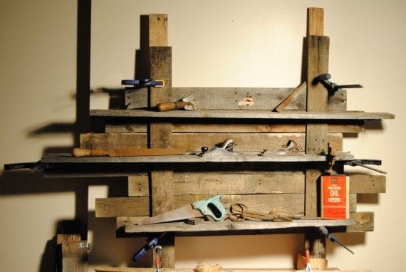 pallet shelf workshop