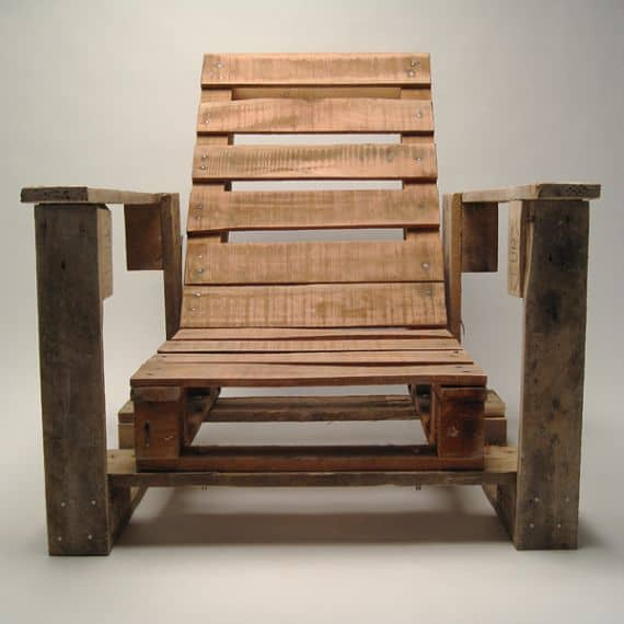 Pallet Kitchen Chairs: Pallet Chairs And Armchairs