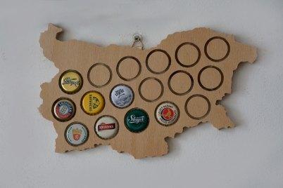 Beer Cap Holder