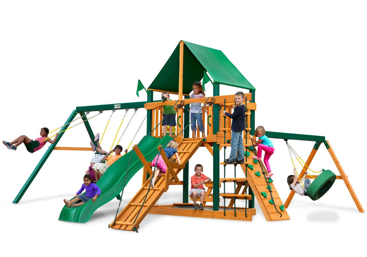 Gorilla Playsets Frontier Wooden Playset Boxed Wooden