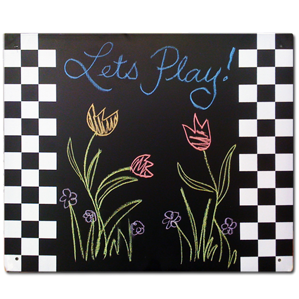 Wooden Playset Chalkboards