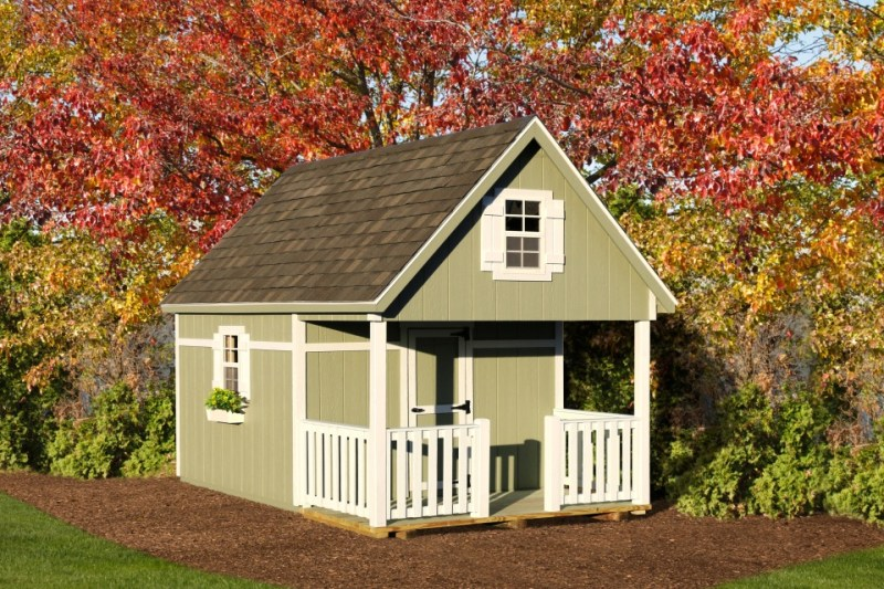 LakeSide Shed Premier Collection - Quaker Playhouse
