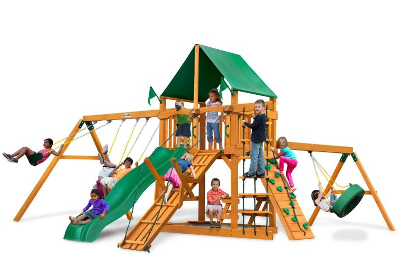 Gorilla Playsets with Vinyl Canopy Roof - AP