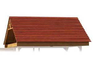 PlayMor Swing Sets Cedar Wood Roofs