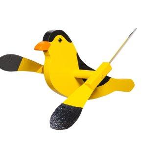 Gold Finch Whirly Bird by Beaver Dam