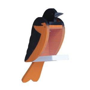 Oriole Wood Bird Feeder by Beaver Dam