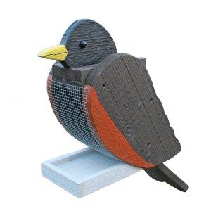 Robin Bird Feeder by Beaver Dam