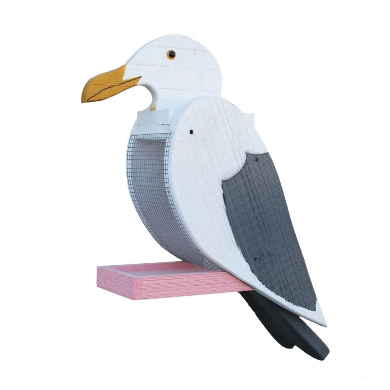 Seagull Bird-Feeder by Beaver Dam