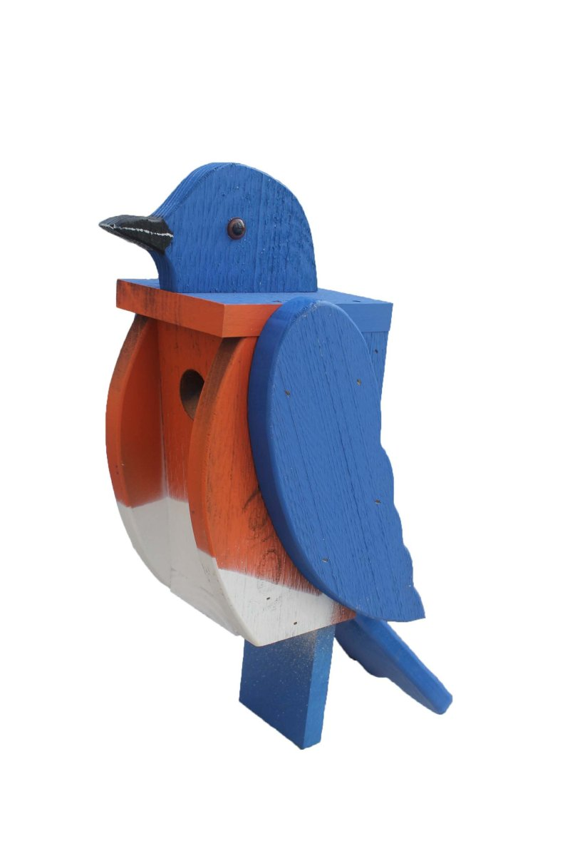 Blue Bird Birdhouse