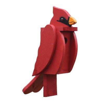 Cardinal Birdhouse by Beaver Dam
