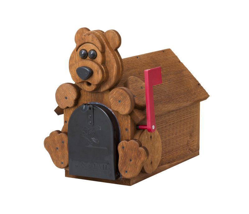 Bear Mailbox by Brookside Woodworks