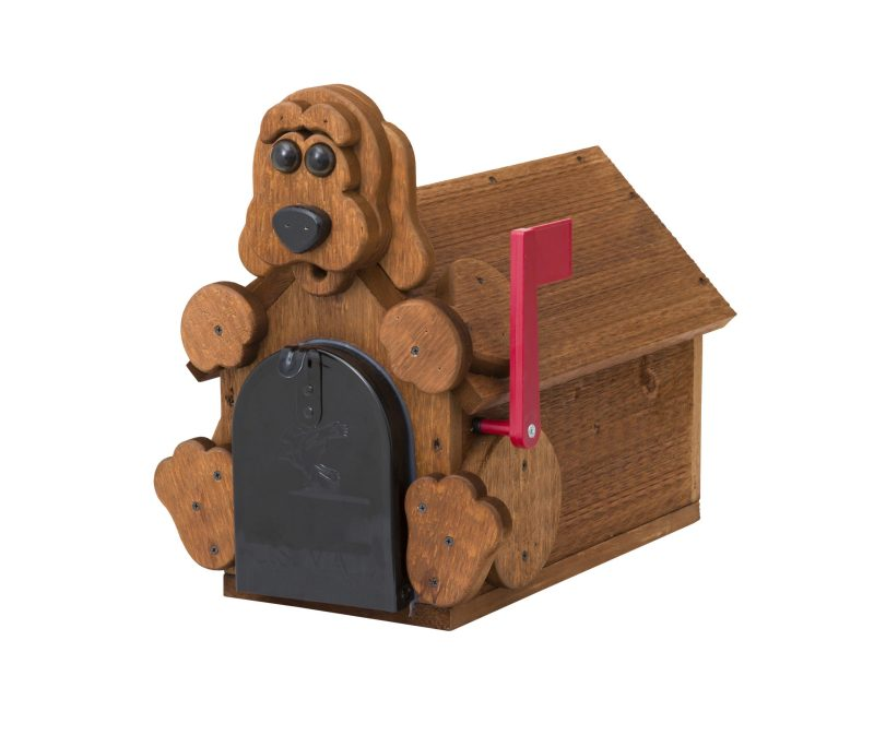 Dog Mailbox by Brookside Woodworks
