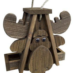 Moose Bird Feeder by Brookside Woodworks