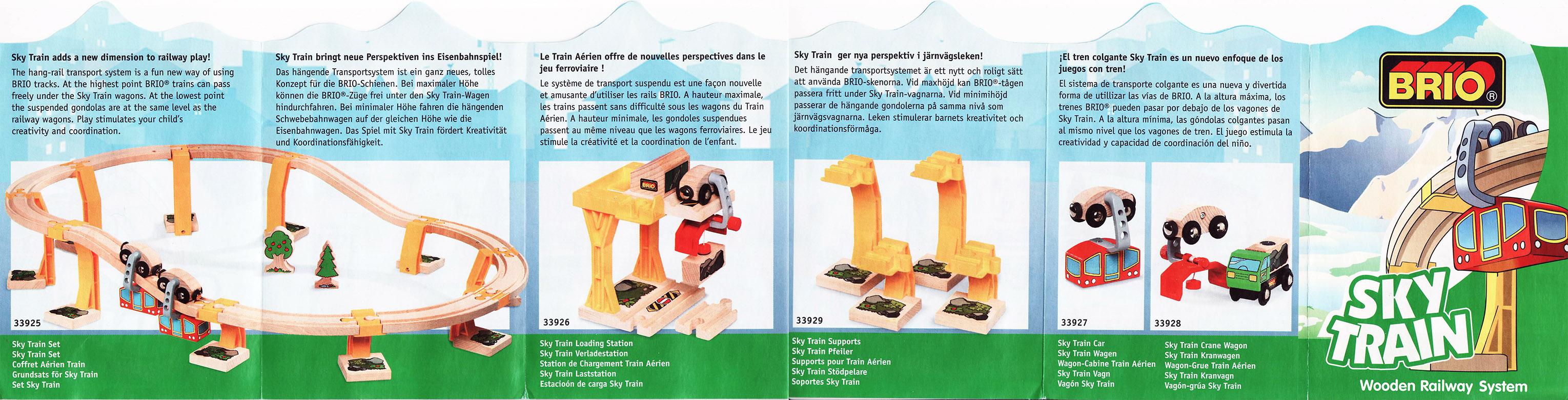 Brio Train Track Dimensions