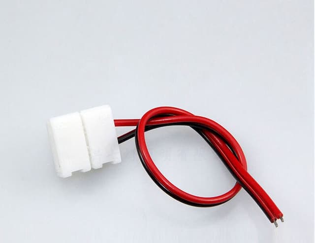 12V免焊燈條連接器