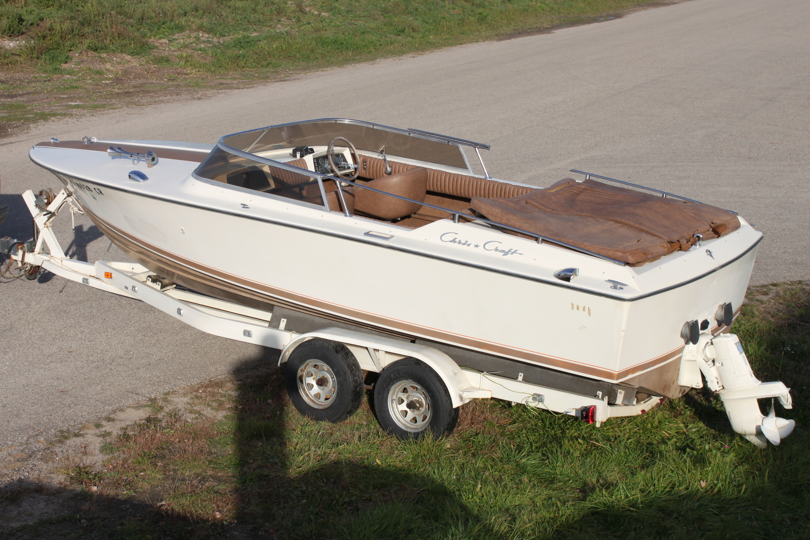Sold 1971 Chris Craft Xk 22 4 900 The Wooden Runabout Company