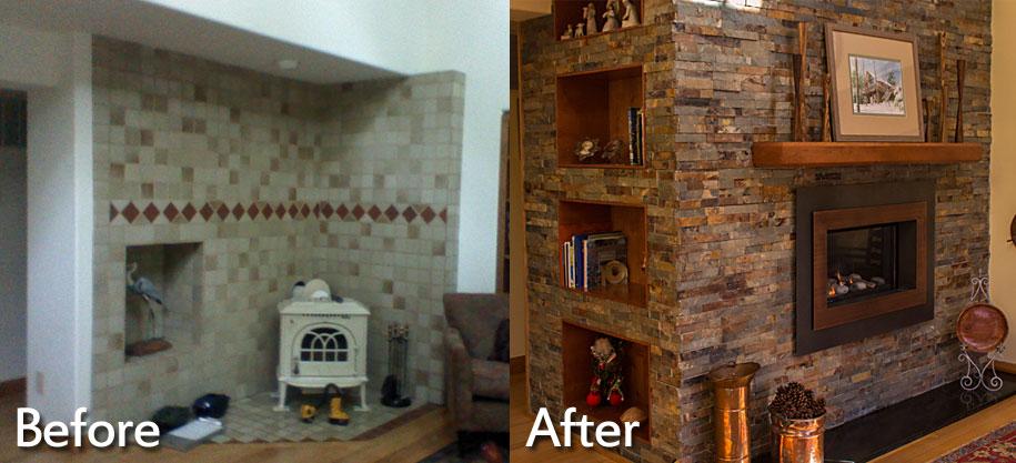 Fireplace Installations Charlottesville Richmond VA  Wooden Sun