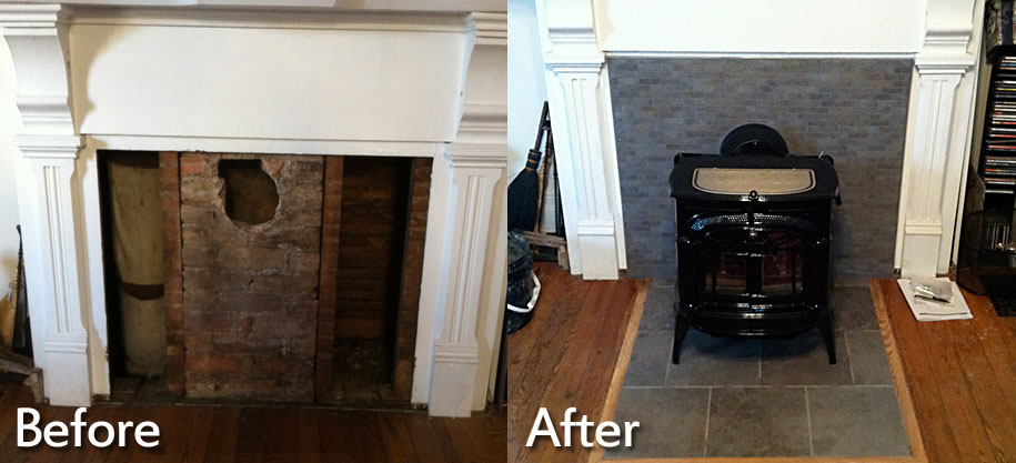 Removing Gas Fireplace Insert Fireplace Installations Charlottesville, Richmond, Va
