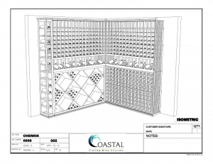 The Design Features of a Modern Custom Wine Cellar Project
