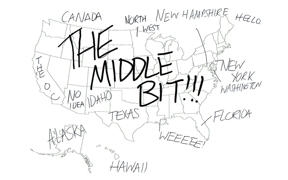 Folks in the U.K Were Given a Map of the U.S and Asked to