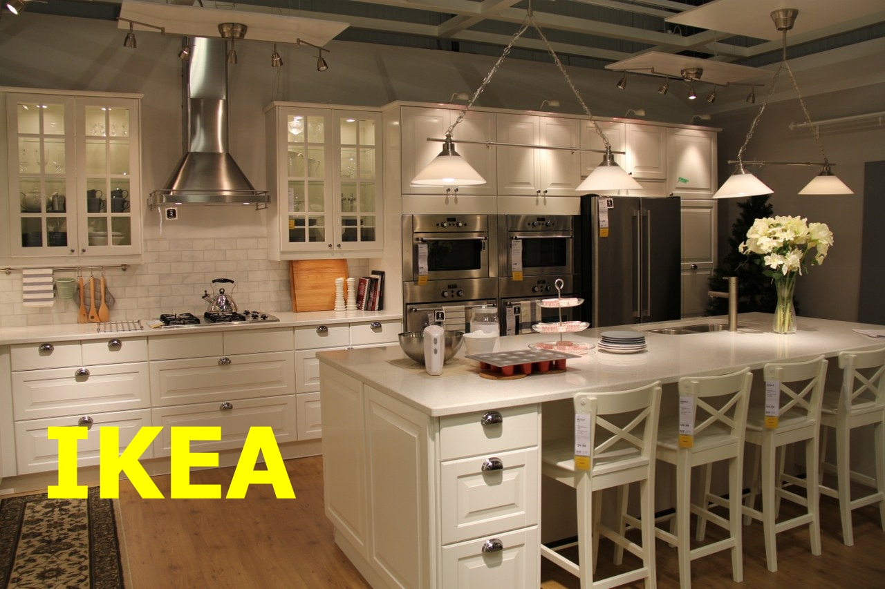 kitchen furniture ikea open commercial design february 2013 installation with wood essence