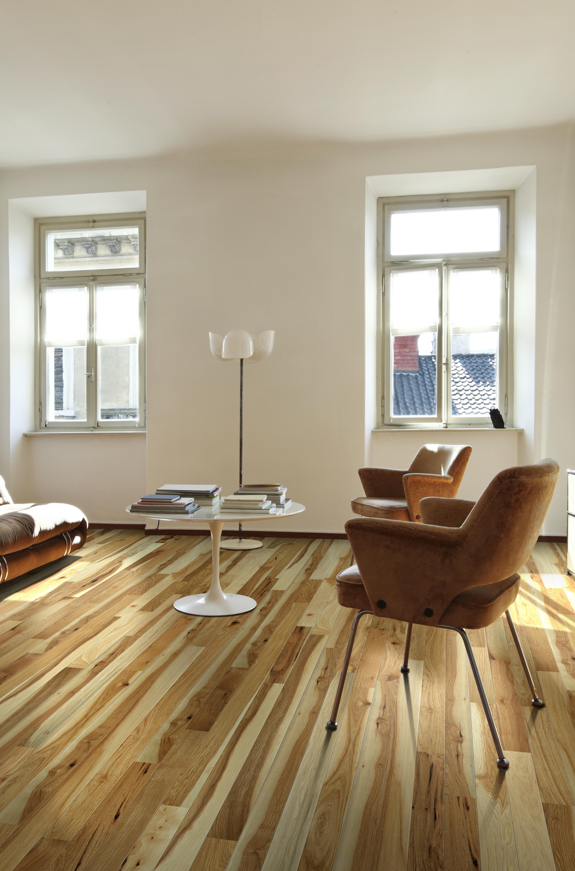 Natural Hickory Wood Floor  woodflooringtrends