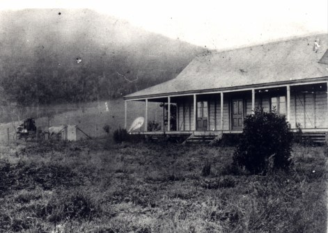 Villeneuve Homestead c1880 Kays photo