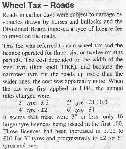 Wheel Tax