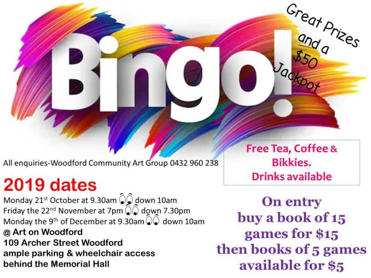 Bingo 2019 dates