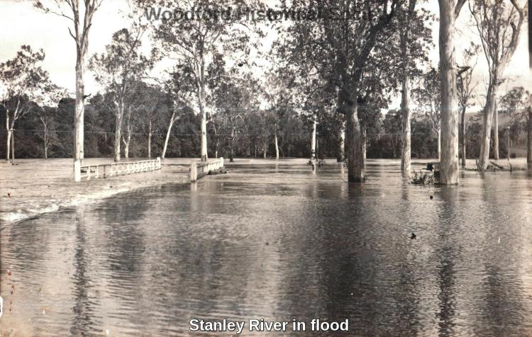 Stanley River in flood