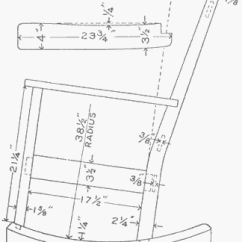 Sam Maloof Rocking Chair Plans Cheap Dining Covers Australia Pdf Download Template Woodworking Wood Carport Kits | Colin031