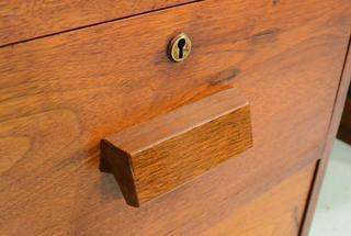 Making drawer pulls on the tables saw