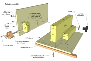 Table Saw Dovetail Jig Plans Free