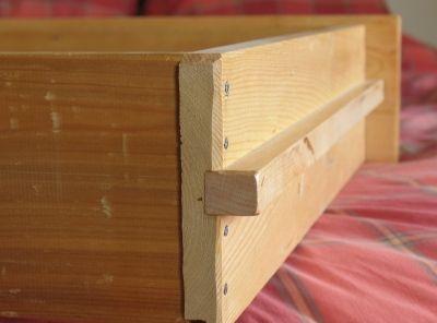Correderas de madera para cajones