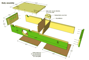 Wooden Jointer Plane Plans