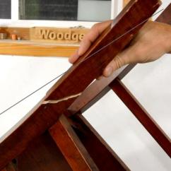 Fixing Wooden Chairs Chair Cushions With Ties Ikea Repairing A Broken Leg