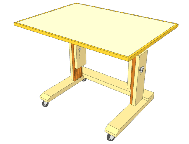 laptop table wheely desk plans these are the plans for my laptop table