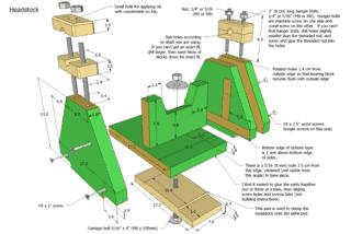 Wooden Lathe Plans Preview