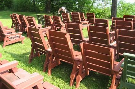 fixing wooden chairs gym chair accessories wood rot lawn