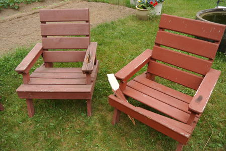 fixing wooden chairs folding high chair booster seat wood rot lawn