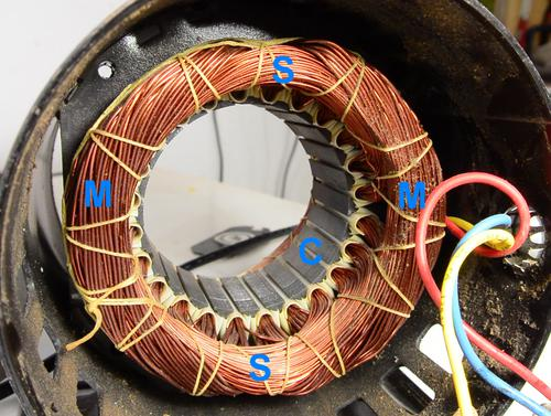 3 Phase Generator Wiring Connections Reversing Single Phase Induction Motors
