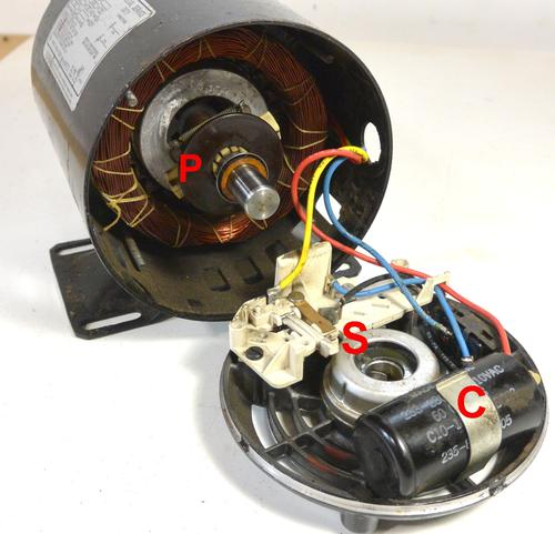 Centrifugal Switch On Motor With Centrifugal Switch Wiring Diagram