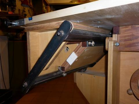 Table Saw Lift Mechanism Diy