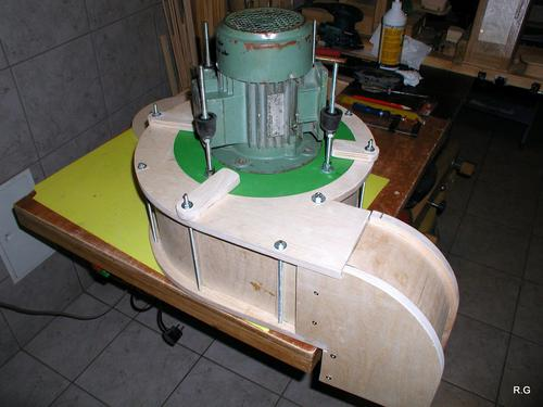 Ryszard S Dust Collector Build Part 2 The Blower